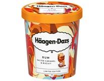 Häagen-Dazs Rum a slaný karamel zmrzlina mraz. 1x460 ml