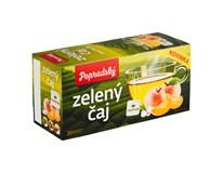 BOP Zelený čaj marhuľa 3x30 g