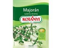 Kotányi Majoránka drvená sušená 5x6 g