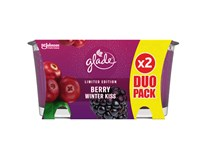 Glade Berry Winter Kiss duo pack sviečka 1ks