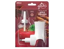 Glade Apple Cosy Cider elektrický strojček s náplňou 1x20 ml