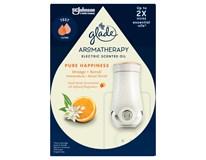 Glade Aromatherapy Pure Happiness elektrický osviežovač vzduchu 1x20 ml