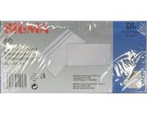 Obálka DL samolepiaca biela SIGMA 50ks
