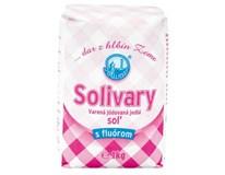 Solivary varená jedlá soľ s fluórom 12x1 kg