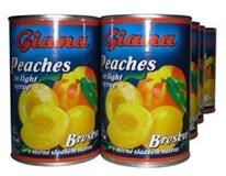 Giana Broskyne lúpané polené 8x425 ml