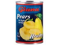 Giana Hrušky lúpané polené 8x425 ml