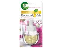 Air wick Essential Oils electric osviežovač satén/ľalia náhradná náplň 1x19ml