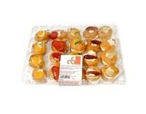 Smetanová cukrárna Mini ovocné venčeky chlad. 1x350 g