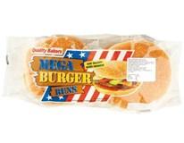 Mega hamburger sezamový 4x75g