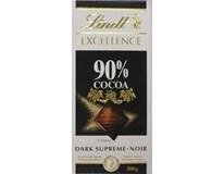 Lindt Excellence 90% cocoa čokoláda 1x100 g