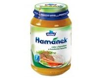 Hamé Hamánek dv ryža s mrkvou a hovädzím mäsom 6x230 g