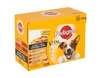 Pedigree Vital hovädzie a morčacie taštičky pre psa (10+2)x100 g