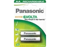 Batérie nabijateľné 1900 P-6E AA Panasonic 2ks