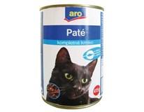 ARO wet cat hydinové kúsky 6x415 g