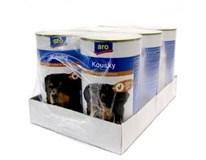 ARO wet dog hydinové kúsky 6x1240 g