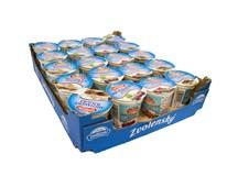 Zvolenský Smotanový jogurt mix (tiram.,brusnica,jabl.-č.baza,višňa) chlad. 20x145 g