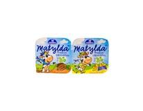 Milko Matylda tvaroh s jogurtom mix vanilka a čokoláda BIO chlad. 2x100 g