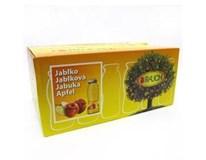 Rauch džús jablko 100% 24x200 ml SKLO