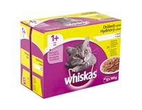 Whiskas hydinový výber kapsičky pre mačky 2x(10+2)x100 g