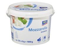 ARO Mozzarella Bambini 45% chlad. 1x1 kg