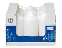 Sviečka biela 58x130mm H-Line 6ks