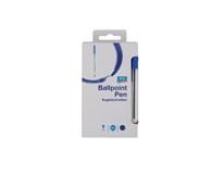 Pero guličkové jednorázové 1mm modré ARO 50ks