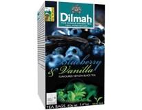 Dilmah Borievka a vanilka čierny čaj 1x40 g