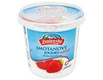 Zvolenský Smotanový jogurt jahoda chlad. 1x320 g