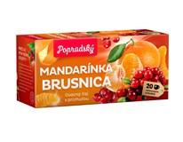 BOP Mandarínka a brusnica ovocný čaj 3x40 g