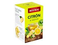 Mistral Citrón a zázvor ovocný čaj 3x40 g