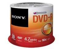 Sony DVD-R/4.7GB/16x/50/CB 1ks