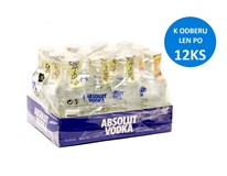 Absolut vodka 40% 1x50 ml (min. obj. 12 ks)