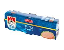 EVA Tuniak v rastlinnom oleji 3x80 g