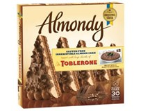 Almondy Toblerone čokoládová torta mraz. 1x1 kg