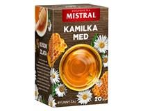 Mistral Kamilka a med bylinný čaj 3x30 g
