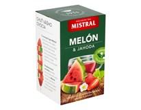 Mistral Melón a jahoda ovocný čaj 3x40 g