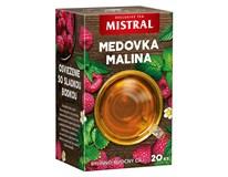 Mistral Medovka a malina bylinno-ovocný čaj 3x30 g