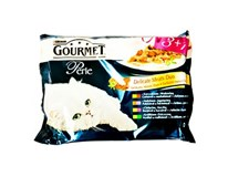 Gourmet perle mäsové duo kapsičky 4x85 g