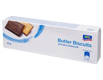 ARO Maslové sušienky s mliečnou čokoládou 1x125 g