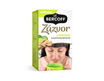 Bercoff Zázvorový s limetkou wellness čaj 3x40 g