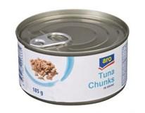 ARO Tuniak kúsky vo vlastnej šťave 6x185 g