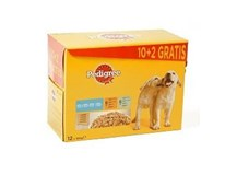 Pedigree junior (10+2)x 100 g