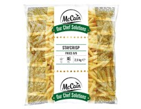 McCain Hranolky Chef Solutions Stay crisp 9/9 mm mraz. 1x2,5 kg