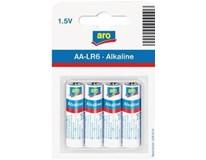 Batérie 1.5V LR6 AA ARO 4ks