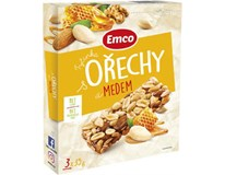 Emco Orechy a med tyčinka 3x35 g