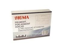 Príjimový pokladničný doklad A6/50 listov SIGMA 10ks