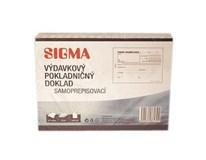 Výdavkový pokladničný doklad A6/50 listov SIGMA 10ks