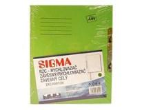 Dosky pap-rzc zelené SIGMA 10ks