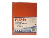 Dosky mapa 250 červené SIGMA 10ks