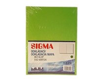 Dosky mapa 250 zelené SIGMA 10ks